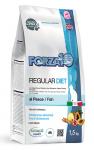 FORZA10 Diet для кошек при аллергии с рыбой Regular, 1,5 кг.
