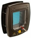 Ferplast  Двери SWING 7 SET с магнитом (цвет коричневый), размер 22,5*25,2*10,4 см.