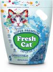 """! Fresh Cat наполнитель силикагелевый """"Морской бриз"""" 5л. АКЦИЯ -20%"""
