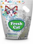 """Наполнитель Fresh Cat """"Кристаллы чистоты"""" силикагелевый 5л"""