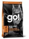GO! Solutions для кошек и котят с лососем, беззерновой, вес 1,36 кг.