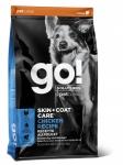 GO! Solutions для собак и щенков с цельной курицей, фруктами и овощами, вес 1,59 кг.