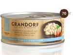 GRANDORF консервы д/кошек куриная грудка с креветками в собственном соку 70г