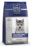 Gina Elite Puppy Large Breed Salmon & Potato для щенков крупных пород (Великобритания), 15 кг.