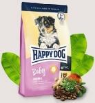 Happy Dog Supreme для щенков средних и крупных с птицей, ягненком и рыбой, вес 4 кг.