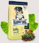 Happy Dog Supreme для щенков средних и крупных с ягненком и рисом, вес 4 кг.