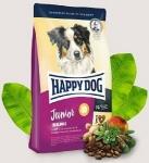 Happy Dog Supreme для юниоров средних и крупных с птицей, ягненком и рыбой, вес 4 кг.