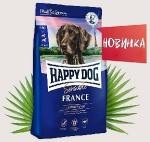 Happy Dog Supreme Франция для собак с уткой и картофелем, вес 4 кг.