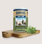 Happy Dog консервы для собак 100% Ягненок, 400г.