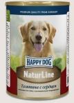 Happy Dog консервы для собак Nature Line с телятиной и сердцем, 400г.
