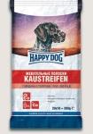 Happy Dog лакомство для собак Жевательные полоски с говядиной и телятиной, 200 гр.