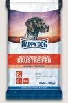 Happy Dog лакомство для собак Жевательные полоски с индейкой, 200 гр.
