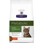 Hill's Diet Cat Metabolic облегченный лечебный корм для кошек, вес 4 кг