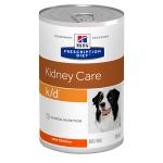 Hill's Diet консервы для собак k/d лечение почек, рагу с курицей, вес 354 гр.