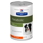 Hill's Diet консервы для собак Metabolic коррекция веса с курицей, вес 370 гр.