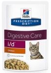 Hill's Diet пауч i/d для кошек лечение ЖКТ с курицей, 85 гр.