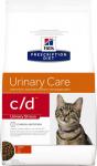 Hill's Diet c/d Urinary Stress для кошек Профилактика МВП (курица), вес 400 гр