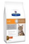Hill's Diet k/d + Mobility для кошек Лечение почек+суставы, 2 кг