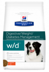 Hill's Diet w/d для собак при диабете и контроле веса 1,5 кг.