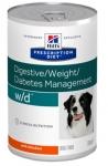 Hill's Diet w/d для собак консервы Лечение сахарного диабета, 370 гр