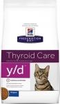 Hill's Diet y/d Диета для кошек при гипертиреозе, вес 1,5 кг