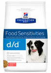 Hill's Diet d/d для собак Диета при пищевой аллергии лосось 12 кг