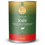 Husse KALV CHUNKS IN GRAVY консервы для собак с говядиной в соусе, вес 1250 г.