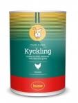 Husse KYCKLING CHUNKS IN GRAVY консервы для собак с курицей, вес 400 гр