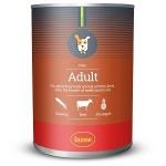Husse PATE ADULT консервы для собак паштет из говядины, вес 400 гр
