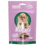 Molina лакомства для щенков и собак мелких утиные кусочки, 50 гр.
