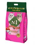N1 Crystals Силикагелевый For Girls, 12.5 л.