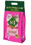 N1 Crystals Силикагелевый For Girls, 5 л.