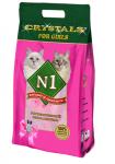 N1 Crystals Силикагелевый For Girls, 5 л.