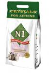 N1 Crystals Силикагелевый For Kittens (для котят), 5 л.