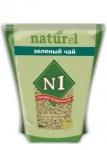 """Наполнитель №1 NATUReL с ароматом """"Зеленый чай"""" растительный комкующийся, 4,5 л."""