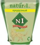 """Наполнитель №1 NATUReL с ароматом """"Кукурузный"""" растительный комкующийся, 4,5 л."""