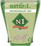 """Наполнитель №1 NATUReL с ароматом """"Жасминовый чай"""" растительный комкующийся, 4,5л"""