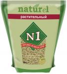 """Наполнитель №1 NATUReL с ароматом """"Растительный"""" растительный комкующийся, 4,5 л."""