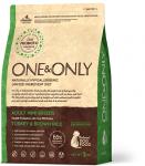 ONE&ONLY MINI TURKEY & BROWN RICE для собак мелких с индейкой и рисом,вес 3 кг.