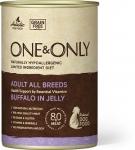 ONE&ONLY консервы для собак, буйвол в желе, вес 400 гр. СКИДКА