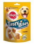 Pedigree Лакомство для взрослых собак Tasty Bites ароматные кусочки с курицей, 130 гр.