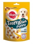 Pedigree Лакомство для щенков Tasty Bites Puppy ароматные кусочки с курицей, 125 гр.