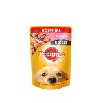 !I Pedigree пауч для собак с ягнёнком в желе 85 гр.