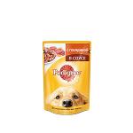 !I Pedigree пауч для собак с говядиной в соусе 85 гр.