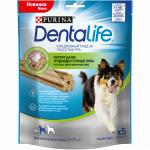 Purina DentaLife лакомства для собак средних пород, 23 гр.