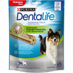 Purina DentaLife лакомства для собак средних пород, 115 гр.
