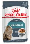 ! Royal Canin Hairball Care Корм консервированный для взрослых кошек в соусе для профилактики образования волосяных комочков, 85 гр.