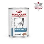 Royal Canin Hypoallergenic Canine Корм влажный диетический для взрослых собак при пищевой аллергии, вес, 400 гр.
