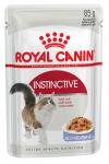 ! Royal Canin Instinctive Корм консервированный для взрослых кошек в желе, 85 гр.