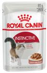 ! Royal Canin Instinctive Корм консервированный для взрослых кошек, соус, 85 гр.
